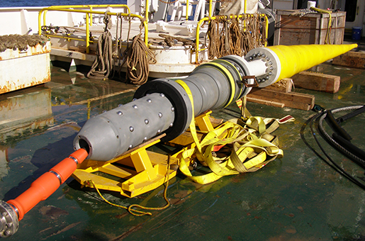 10 inch type I BSC for fibre optic cable installation